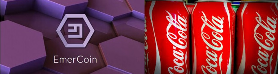 Coca Cola collaborates with Emercoin for Blockchain Project