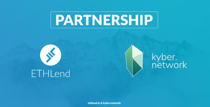 ETHlend and Kyber Network sign a strategic partnership