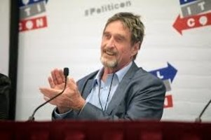 'Unhackable' Cryptocurrency Hardware Wallet Of John Mcafee Was Hacked By 15 Year Old Kid