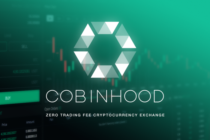 Cobinhood launches USD based fiat trading pairs