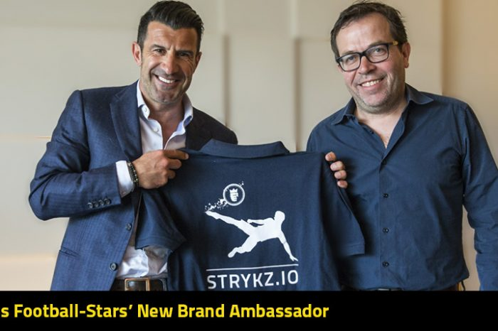 Football Legend Luis Figo joins Stryking Entertainment