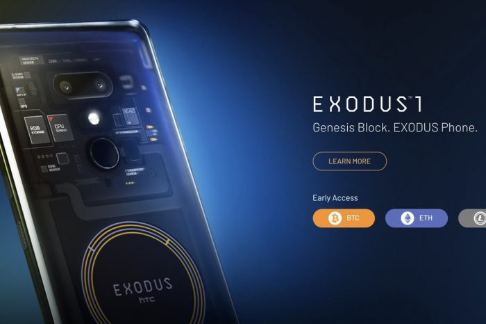 Bitcoin[BTC], Litecoin[LTC] and Ethereum[ETH] gets a boost in adoption with the newly launched HTC Exodus