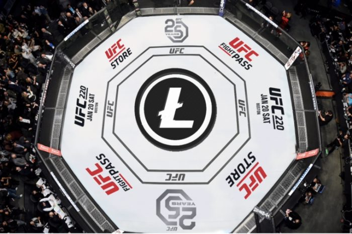 Litecoin (LTC) Logo to be Featured at UFC 232, Litecoin Foundation to Drive Crypto adoption at UFC