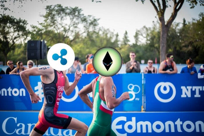 Ethereum (ETH) Takes over XRP by a Storm to Occupy the Second Position