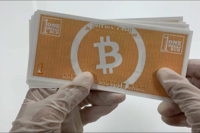 Bitcoin Cash [BCH] News: Bitcoin Cash to become physical notes