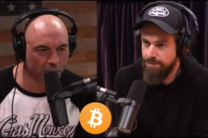 Joe Rogan and Twitter CEO Jack Dorsey talk about Bitcoin on the JRE Podcast