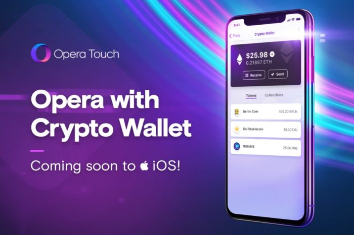 Opera plans to integrate Ethereum Wallet on iOS very soon
