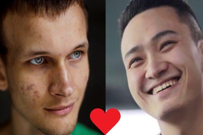 Bromance Brews Between Ethereum's Vitalik Buterin and Tron's Justin Sun