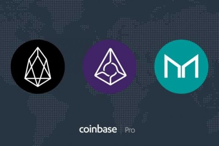 Coinbase Pro Adds EOS, Maker (MKR), and Augur (REP)