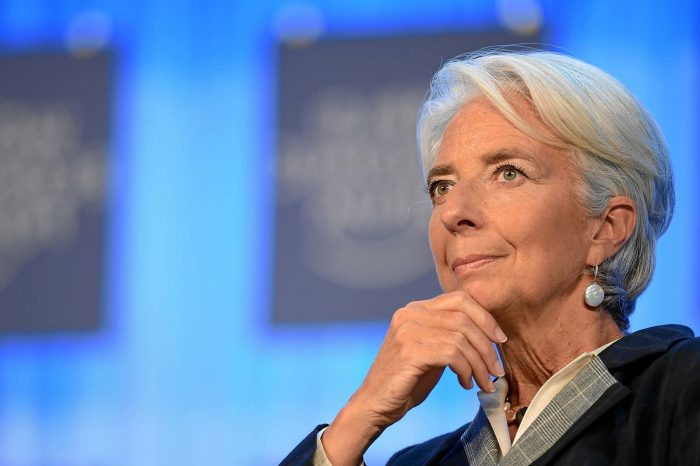 "IMF chief: Cryptocurrencies are ""shaking"" the Financial sector"