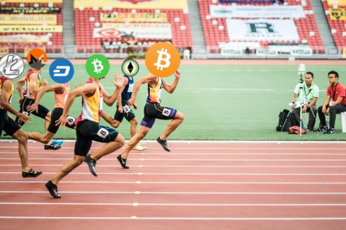 Data: Bitcoin (BTC) is multiple times faster than Ethereum (ETH), Bitcoin Cash (BCH), Litecoin (LTC), Monero (XMR) and others