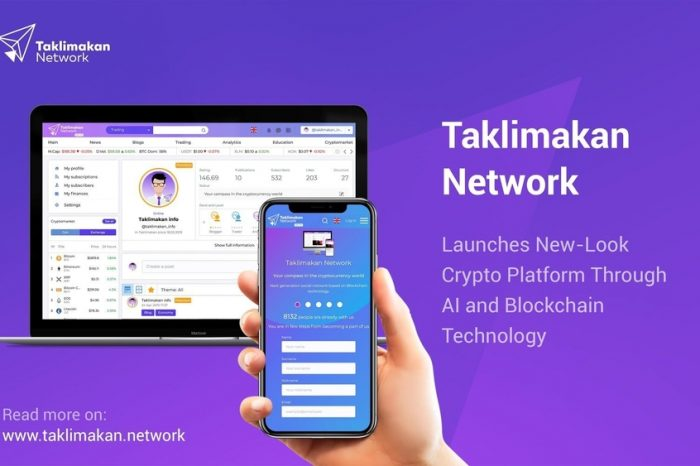 Taklimakan Network Launches New-Look Crypto Platform Through AI and Blockchain Technology