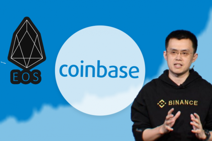 Coinbase Lists EOS, Binance Partners with Crypto lending platform Cred