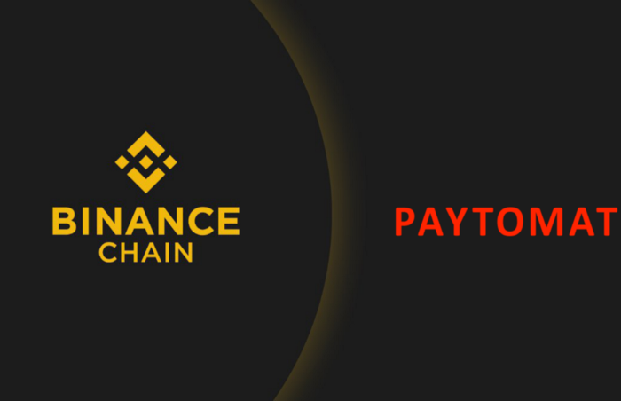 Paytomat now supports Binance Chain, users can pay using BNB tokens