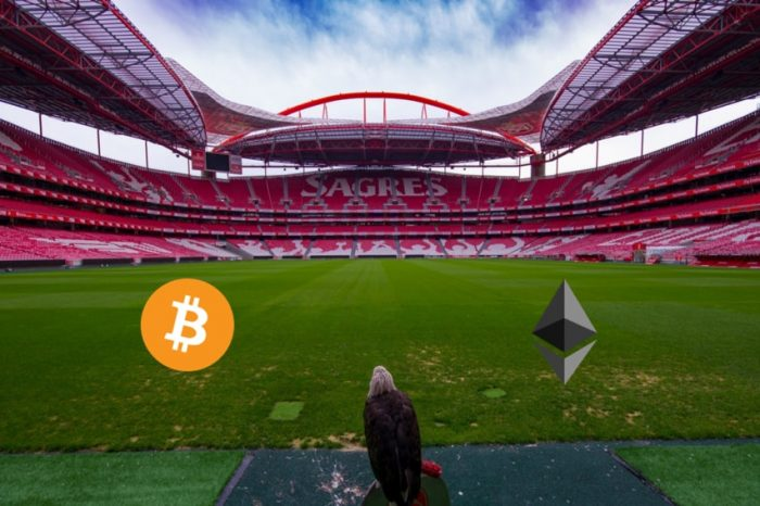 S.L.Benfica Football Club partners with UTRUST to accept Bitcoin (BTC) and Ethereum (ETH)