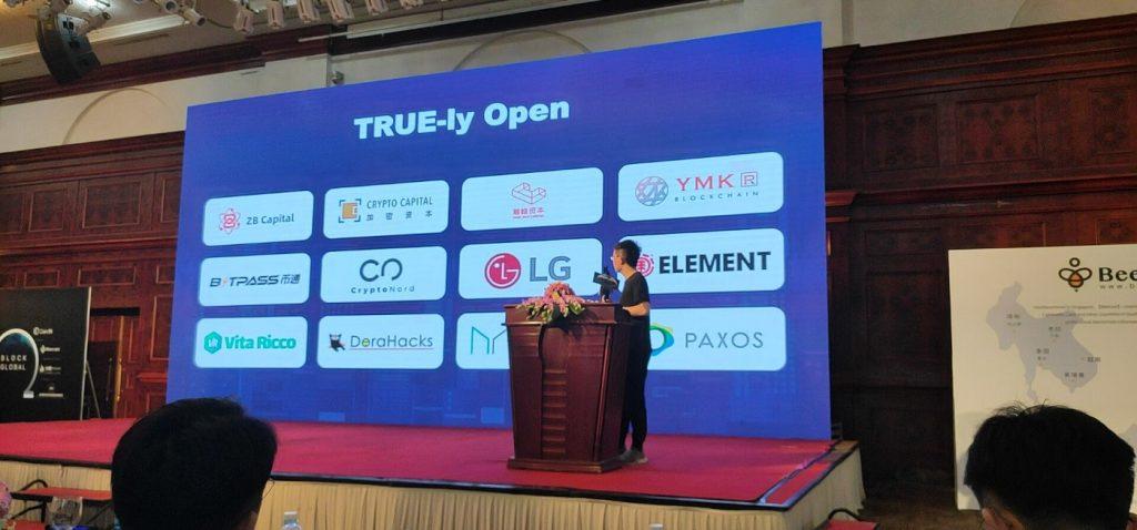 Eric Zhang reveals Truechain's Partners