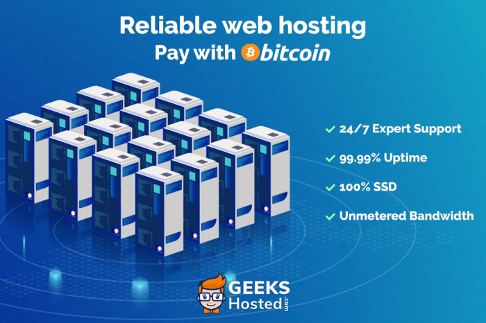 Web Hosting Company GeeksHosted.com Experience Post Data Center Business Boom, Now Accepts Bitcoin