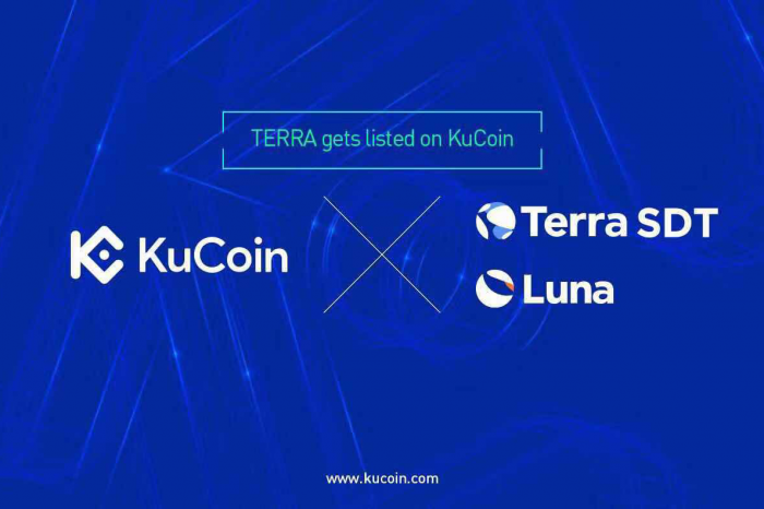 Terra and Mining Token Luna Listed on KuCoin Cryptocurrency Exchange