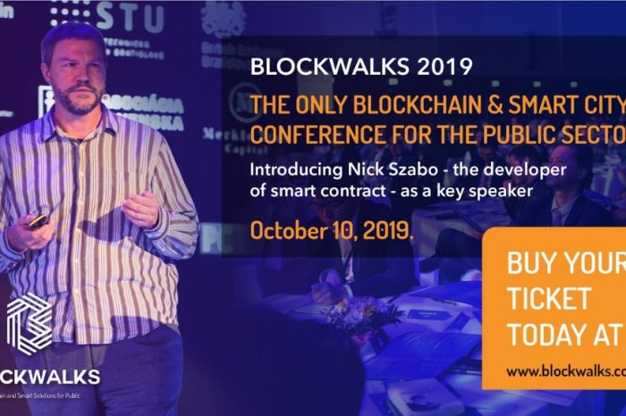 BLOCKWALKS 2019 European Conference: How Blockchain will Improve Government Administrations, and the Lives of its Citizens