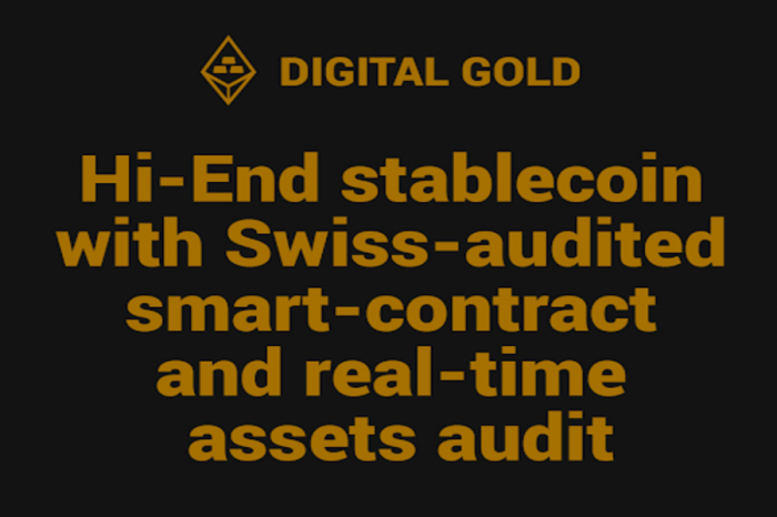 DIGITAL GOLD Launches Stablecoin and Market-leading Solution for Secure and Private Gold Ownership