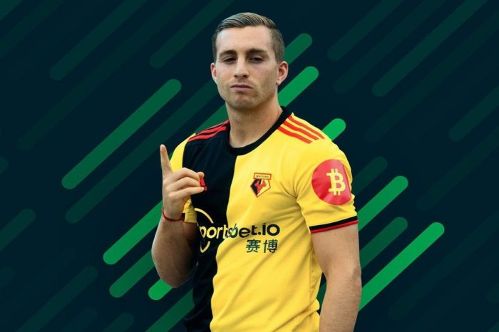 Watford FC and Sponsor Sportsbet.io add Bitcoin Symbol to 2019 Home Kit, Raising Awareness for Cryptocurrency