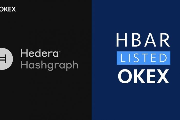 OKEx Will List Hedera Hashgraph (HBAR), a New Generation of Distributed Ledger Technology