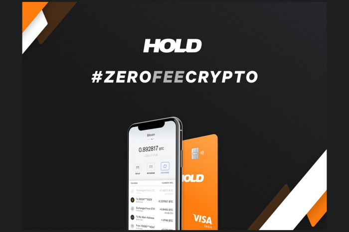 HOLD is Launching a Zero-Fee Crypto Exchange with Visa Debit Card
