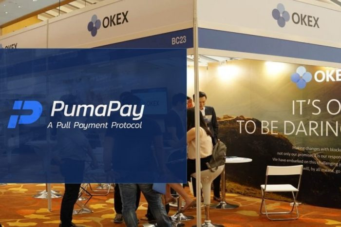PumaPay Coin [PMA] listed on OKEx Exchange