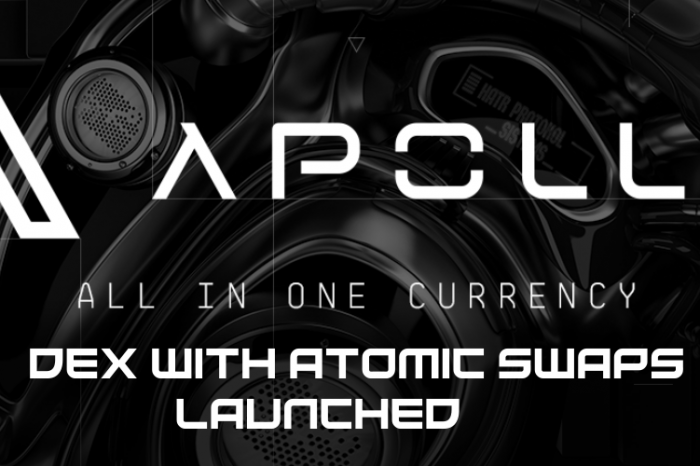Innovative All-in-one Cryptocurrency Apollo DEX Exchange Enters Beta with 100% Private Transactions and Atomic Swaps Enabled
