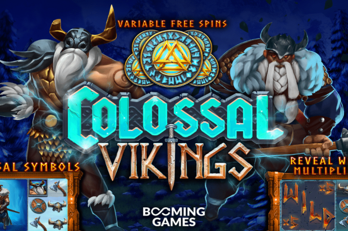 Bitcoin Casino Plays Host to Booming Games' Colossal Vikings