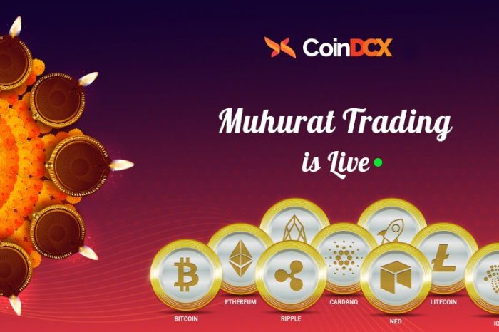 Muhurat trading is live on CoinDCX