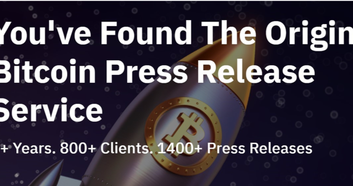 Bitcoin PR Buzz Launches Guaranteed Cointelegraph and other top Publications With $1250 Discount