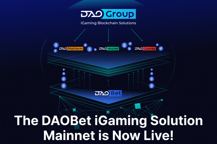 The DAOBet iGaming Solution Mainnet is Now Live!