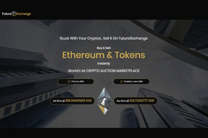 The Worlds 1st Crypto Auction Exchange Set to be launched by Future1Exchange