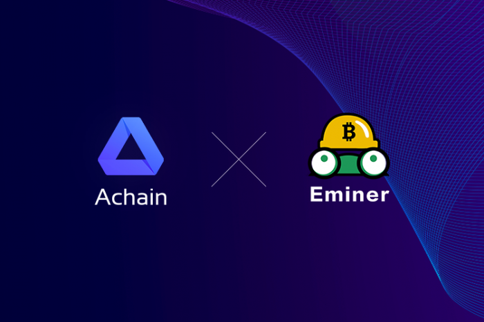 Eminer joins Achain Galaxy,brings Disruptive Cryptocurrency Mining Technologies to Achain