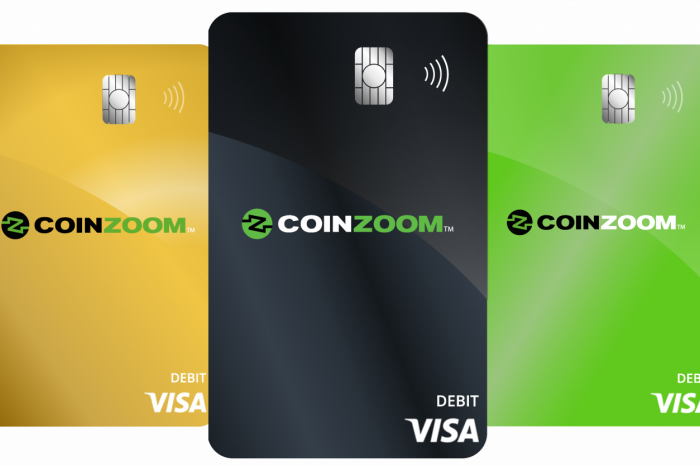 CoinZoom, a U.S. Regulated Cryptocurrency Exchange Officially Launches Crypto Trading Platform and CoinZoom Visa Card