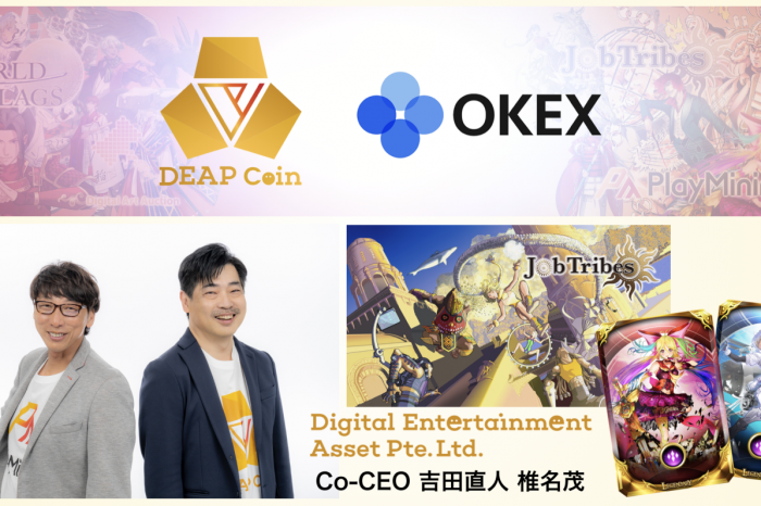 Entertainment Asset DEP (DEAPcoin) Launches on Top Exchange OKEx