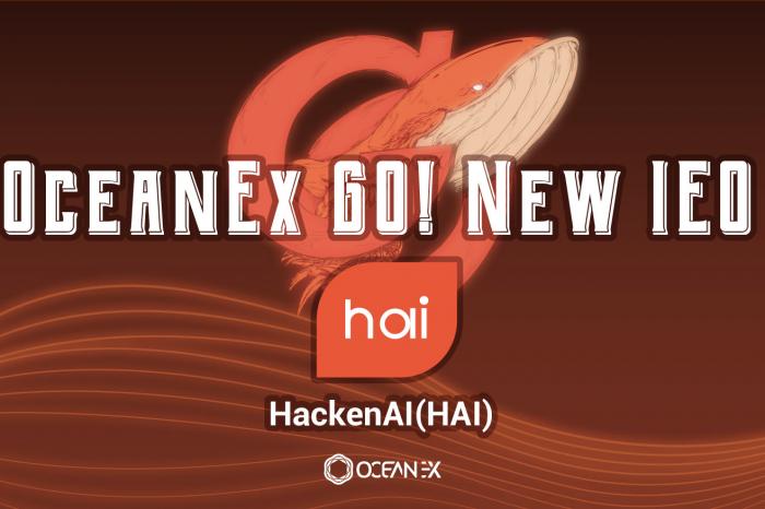 OceanEx GO! Launches the New Project — HackenAI (HAI)