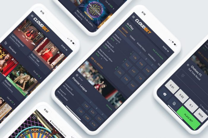 Crypto Gaming Pioneer Cloudbet Launches New Website with a Host of New Features