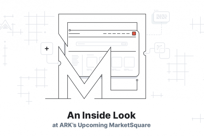 ARK.io introduces MarketSquare - The New Homepage for the Decentralized Web