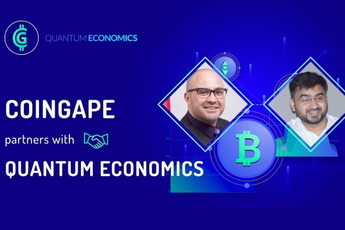 Mati Greenspan's Quantum Economics Partners With Major Indian Crypto Media Group CoinGape