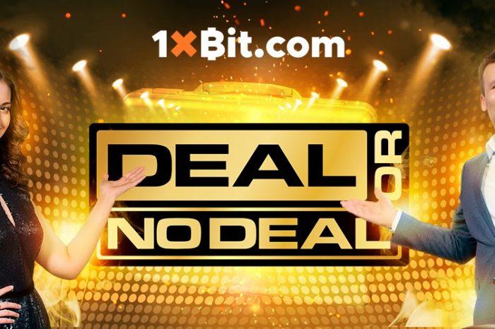 1xBit Introduces New Live Casino Tournament DEAL OR NO DEAL