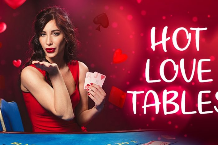 Hot Love Tables - The Best Live Casino Tournament for Valentine's Day 2021