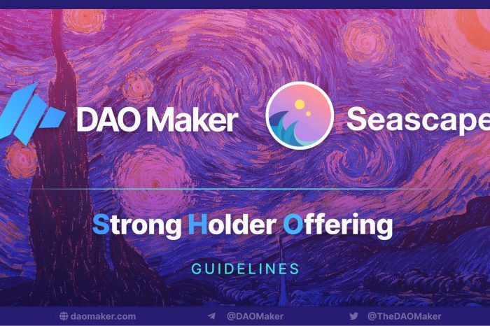DAO Maker platform managed to stake 100 Million for Seascape SHO