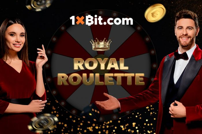 Keep it Regal with Royal Roulette on 1xBit Casino