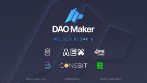 DAO Maker – Weekly Summary 5-35: Growth Days