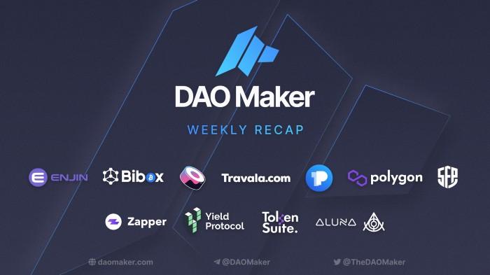 DAO Maker – 3-35: Weekly Growth Summary