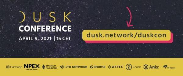 Dusk Network Announces First Conference