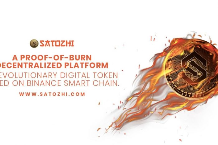 Satozhi (SATOZ), the World's First Proof-Of-Burn Blockchain Launches VMT Marketplace