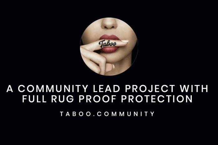 Taboo: A New Deflationary Meme Token with NFT Platform Support